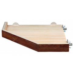 Pet Ting Wooden Corner Shelf